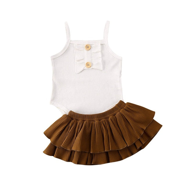 Dove Bloomer Set | Brown Bloomer