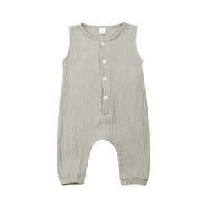 Byron Cotton Onesie | Sage