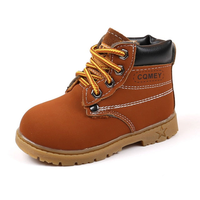 Worker Urban Boots | Red Brown