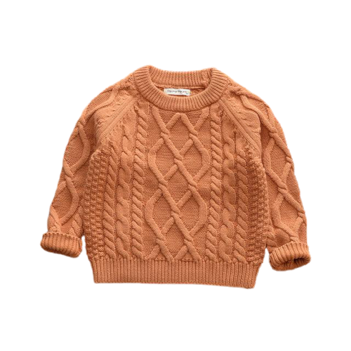 Knit Winter Jumpers | Brown