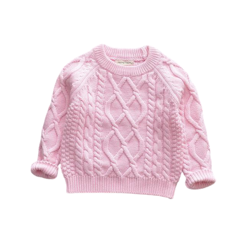 Knit Winter Jumpers | Pink