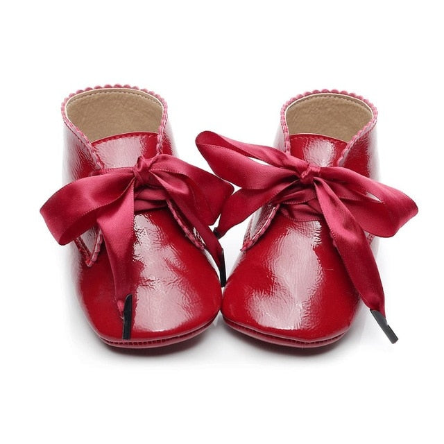 Winter Baby Boots | Red