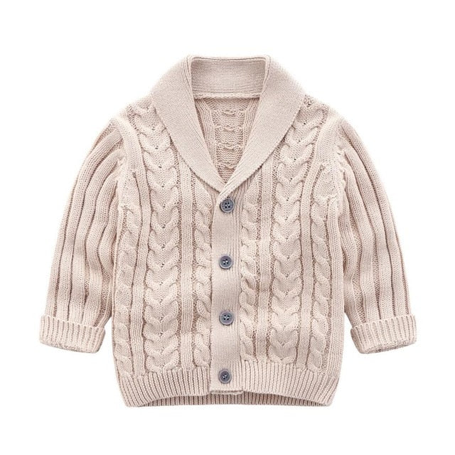 Oxford Cardigan | Beige