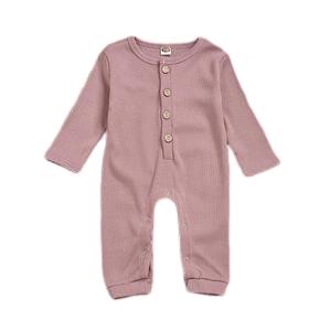 Harriot Onesie | Dusty Rose