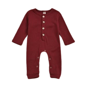 Harriot Onesie | Maroon