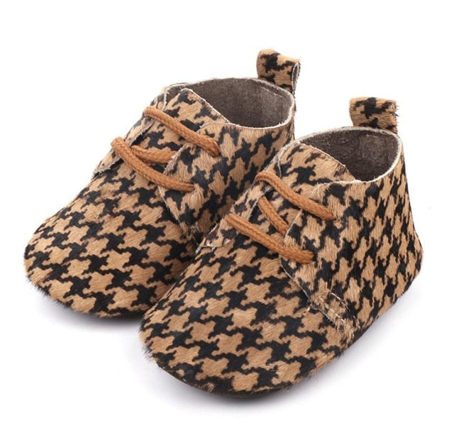 Posh Leather Baby Shoes