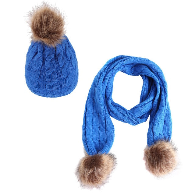 It's Cold Outside Set | Royal Blue