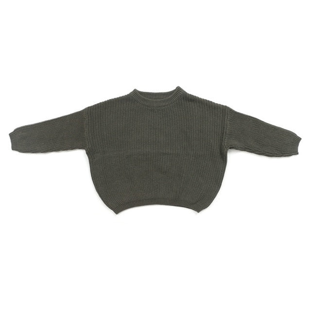Cuddly Knit Sweater | Grey