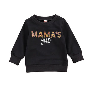 Mama's Girl Top | Black