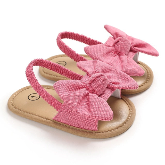 Bow Knot Sandals | Red