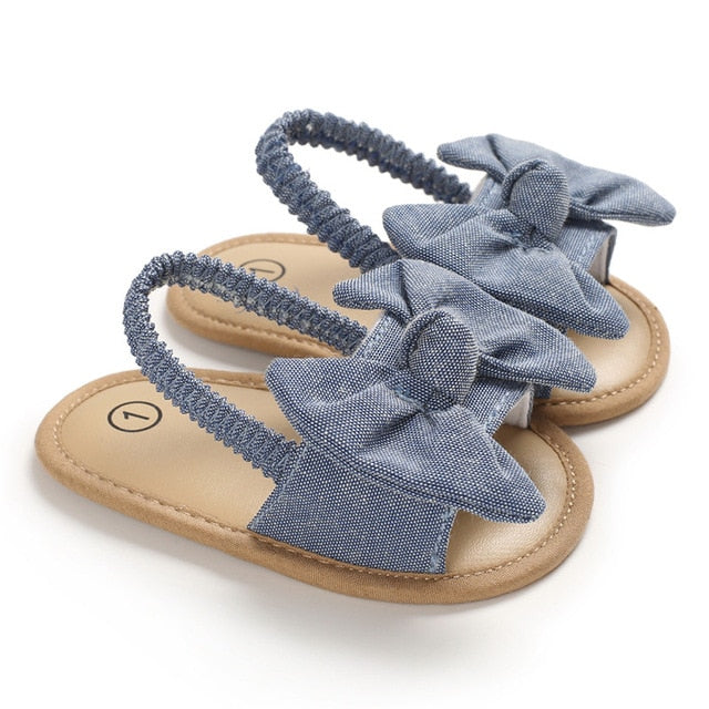 Bow Knot Sandals | Blue