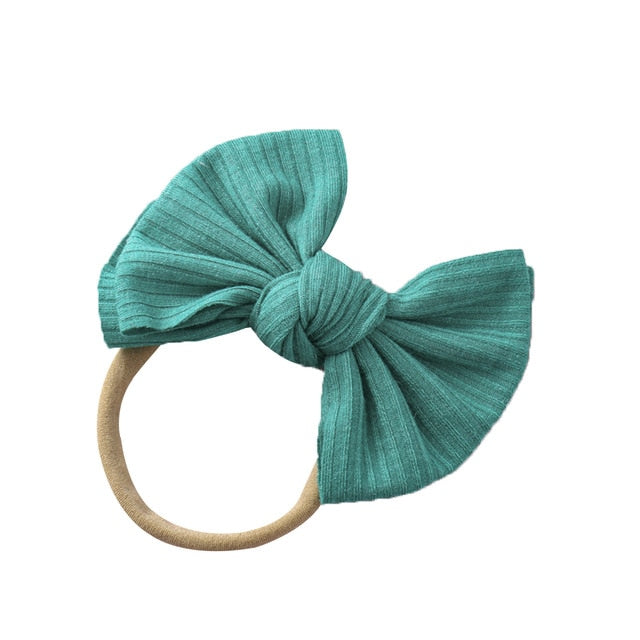 Mini Rib Headband | Green