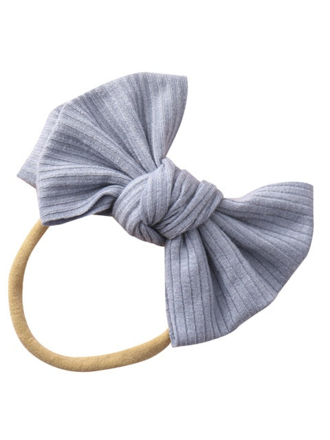 Mini Rib Headband | Grey
