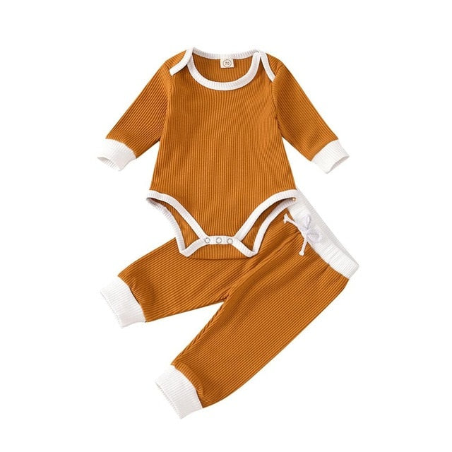 Loree Bodysuit Set | Orange