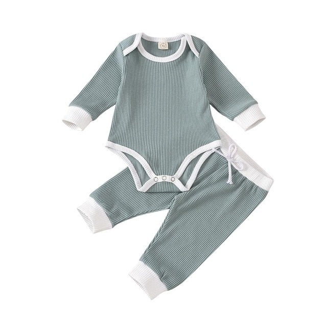 Loree Bodysuit Set | Green