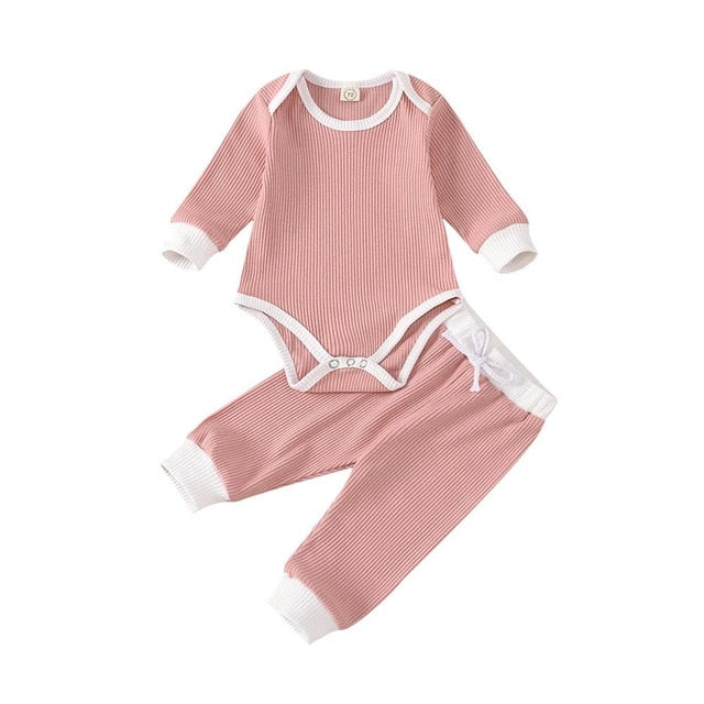 Loree Bodysuit Set | Pink