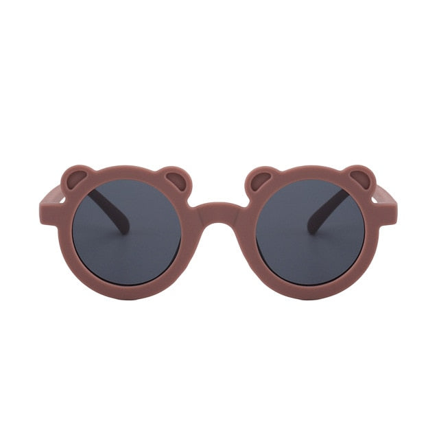Bear Shaped Sunglasses | Brown