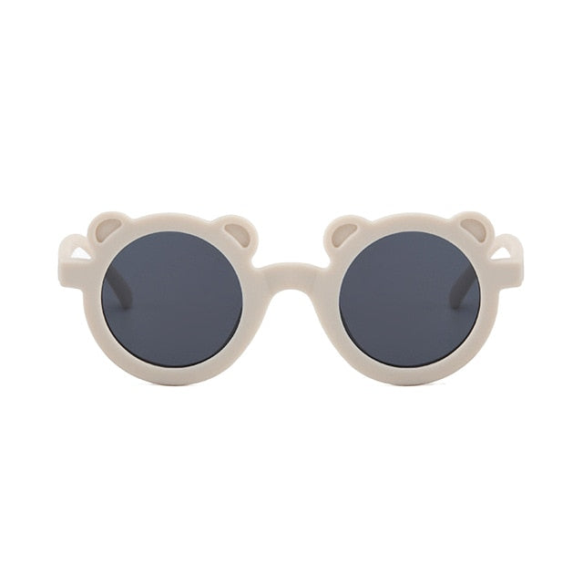 Bear Shaped Sunglasses | Ivory
