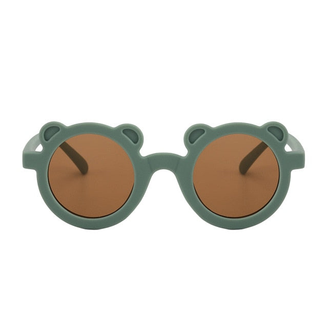 Bear Shaped Sunglasses | Forrest Green