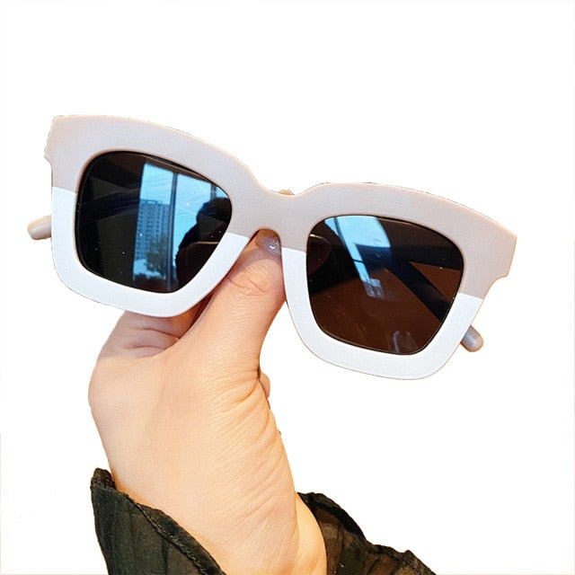 2 Tone Sunglasses | Neutral