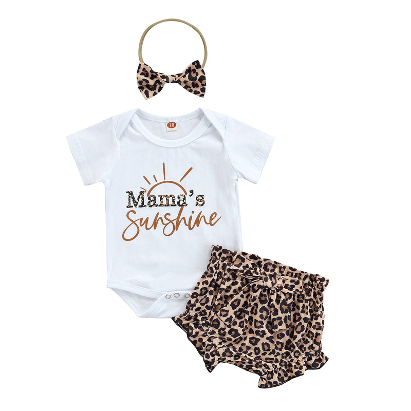 Mama's Sunshine Romper Set