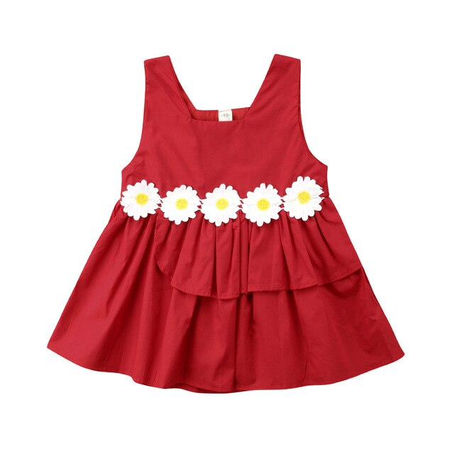 Meaghan Party Dress | Red