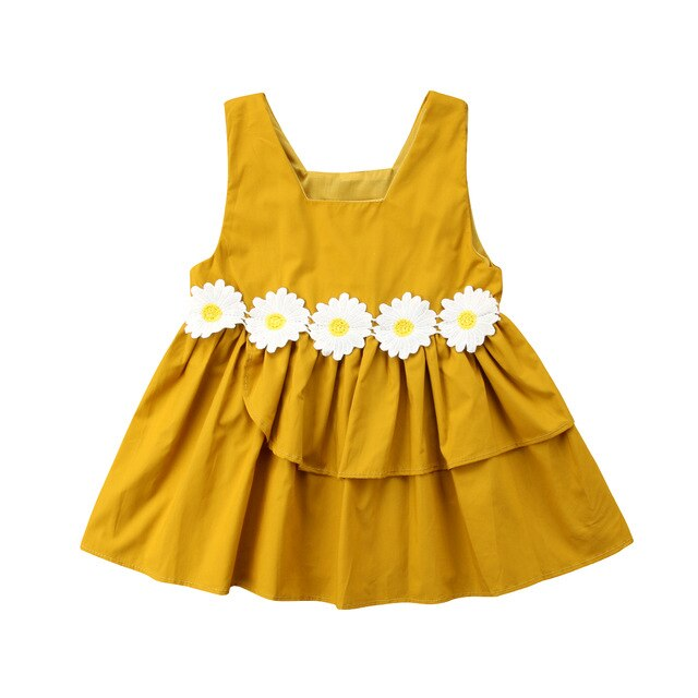 Meaghan Party Dress | Yellow