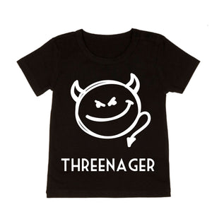 MLW By Design - Threenager Tee | Black or White