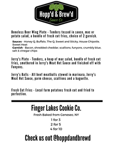 Hopp'd & Brew'd Food Menu - Current 2 - Roc City Sauces