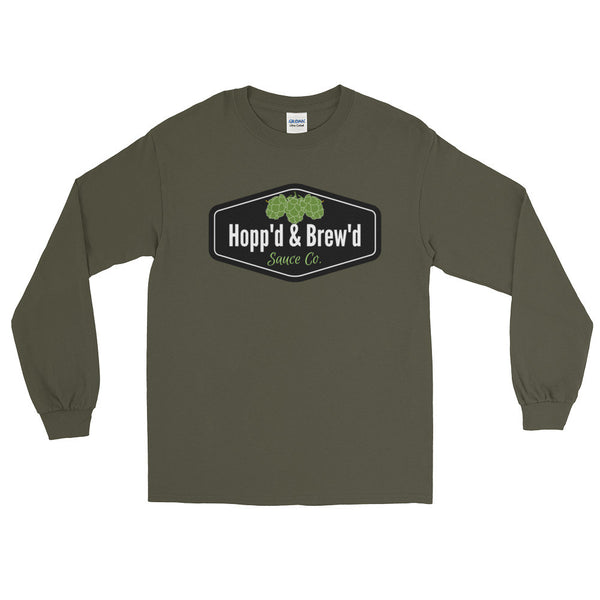 Long Sleeve T-Shirt - Hopp'd & Brew'd Official - Roc City Sauces