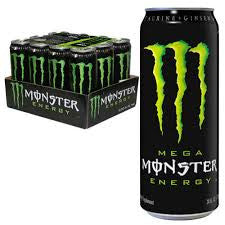 Monster energy 500m can x 12