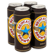 Brown ale cans 500m x 24