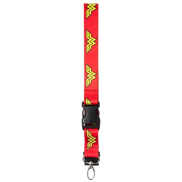 High Quality Wonder Woman Lanyard ID / Keycain Holder
