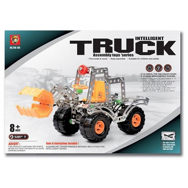 Intelligent Truck Assembly Metal Model DIY Vehicle Kit - Rassme