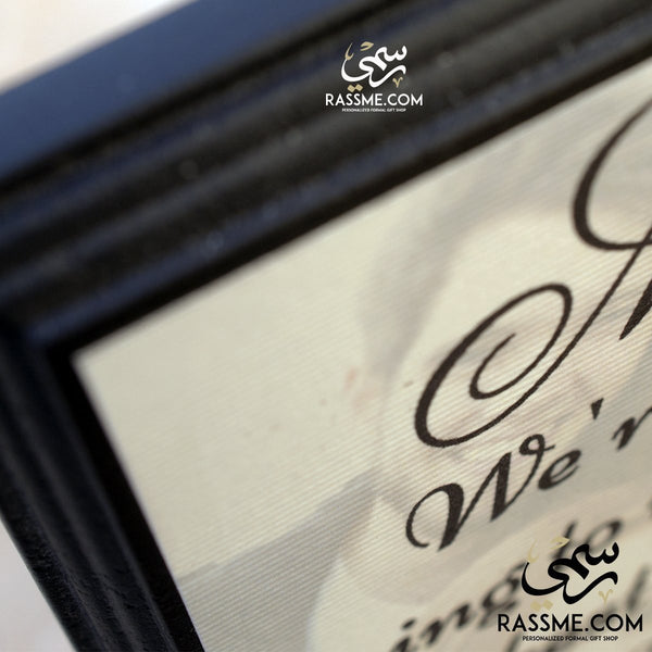 Wooden Book Two Frames (Image + Text) - Free Engraving - Rassme
