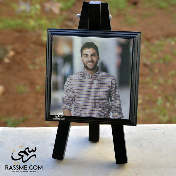 Wooden Drawing Stand Image Only - in Jordan