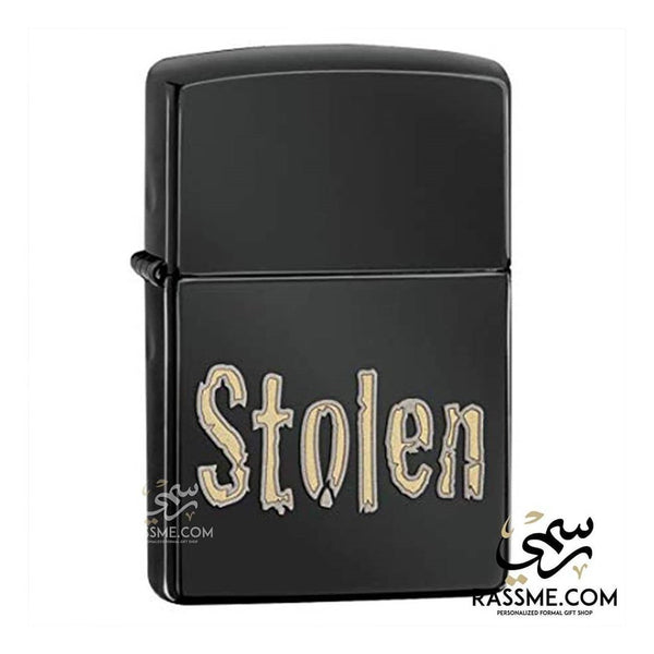 Black Ice Stolen - Zippo Lighters In Jordan - in Jordan