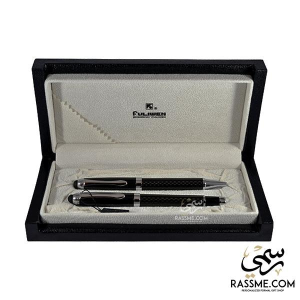 High Quality Carbon Fiber Sole Ring Pens Set With Box - Free Engraving - in Jordan