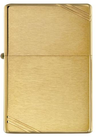 Brushed Brass with Slashes - Zippo Lighters In Jordan - in Jordan