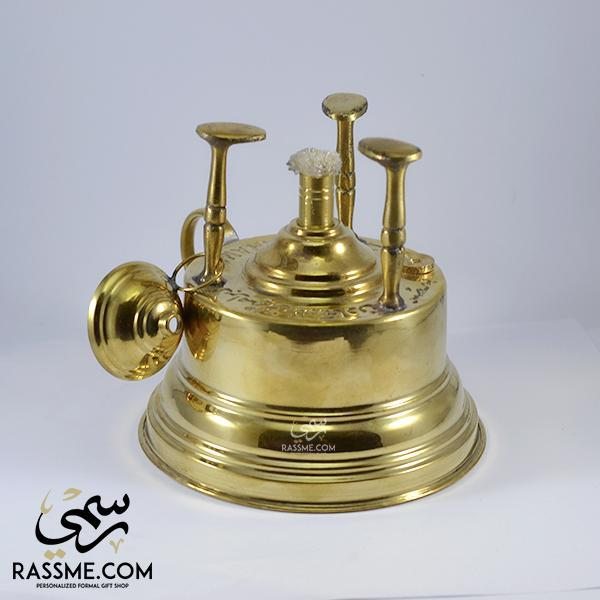 Solid Brass Spirit Lamp For Heating - Rassme