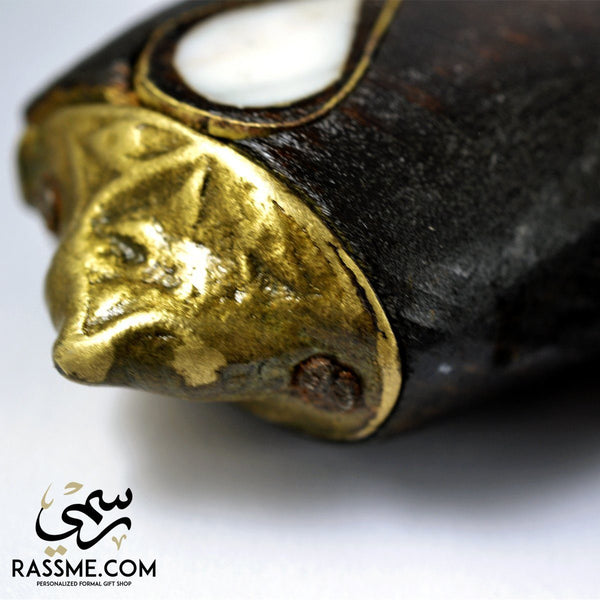 Wooden Dagger Brass with Mother of Pearl - Rassme
