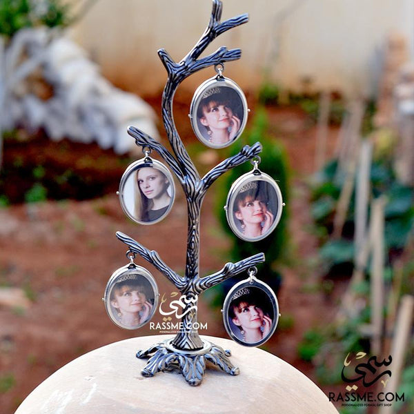 Double Side Family Tree / Story Tree Image Resize & Print 2-12 pictures - in Jordan