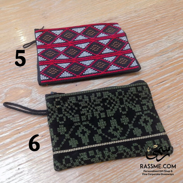 Jordanian / Palestinian Cross Stitch Embroidery wallet and purses - Rassme