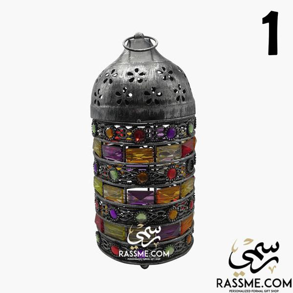 1-6 Candle Large Tanks Ramadan Lantern Desk / Ceiling - in Jordan