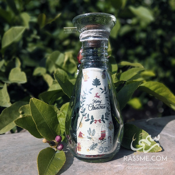 Christmas Personalized Small Message In The Bottle - in Jordan