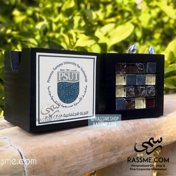 Personalized Pen & Paper Holder Mosaics Corporate Gifts in Jordan - Rassme