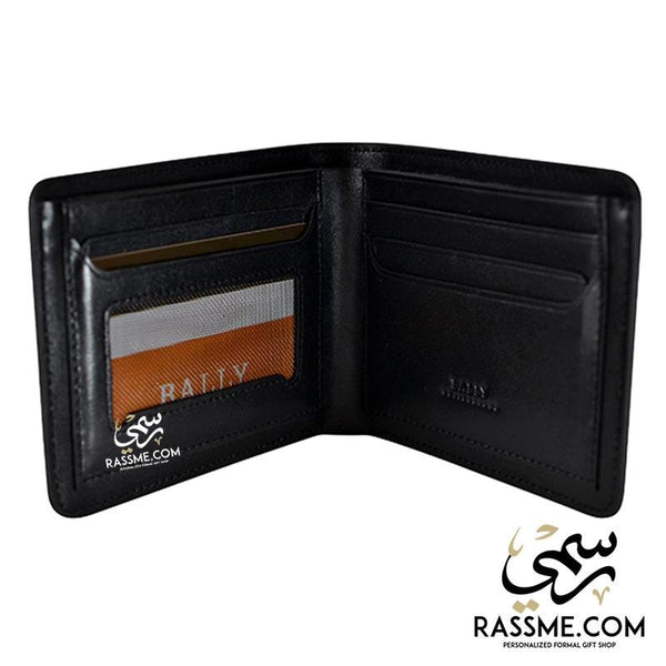 High Quality Leather Wallet Rounded Corner - Free Engraving - Rassme