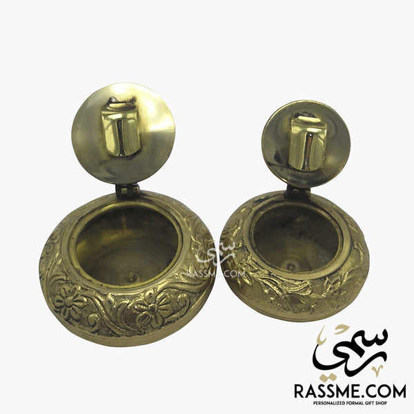 Indian Solid Portable Brass Ashtray - in Jordan