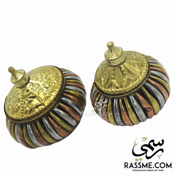 Indian Solid Brass Small Box - in Jordan