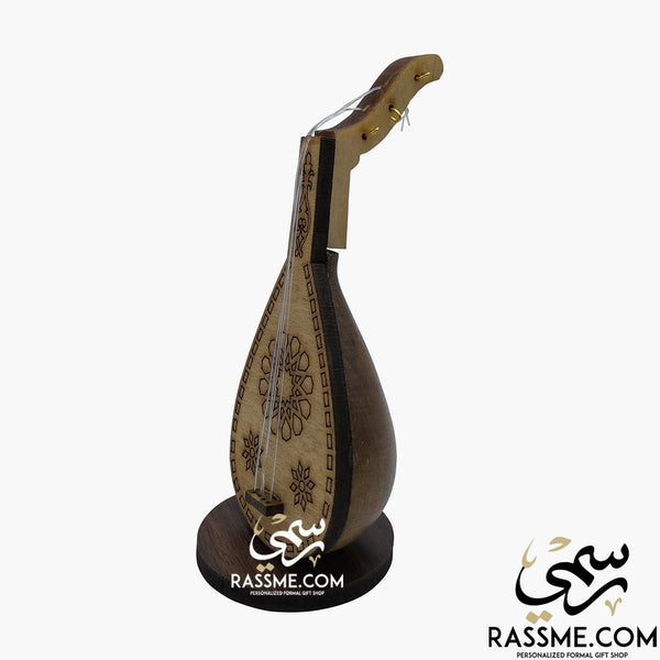 Small Wooden Oud Stand - in Jordan